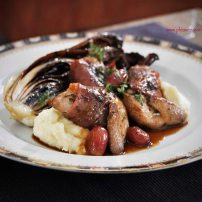 Pan Fried Quail with Vincotto Glazed Grapes | The Dinner Party Collective