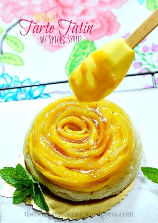 Mango Tarte Tatin with Spiced Syrup | The Dinner Party Collective