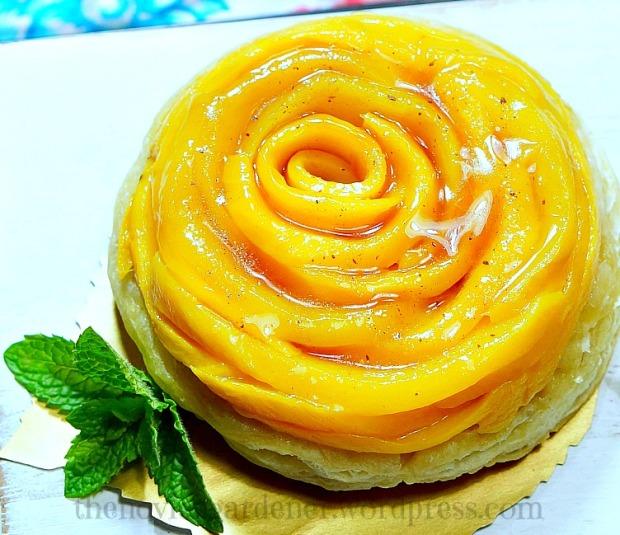 mango tarte tatin