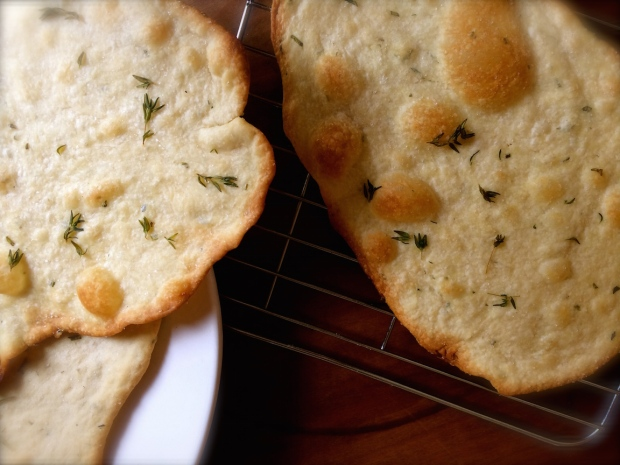Crisp Rosemary Flatbreads | The Dinner Party Collective