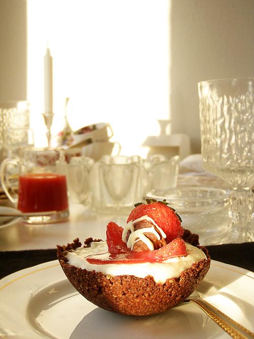 Lemon and Coconut Cheesecake