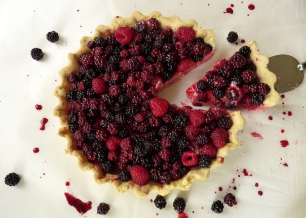 Blackberry Tart | The Dinner Party Collective