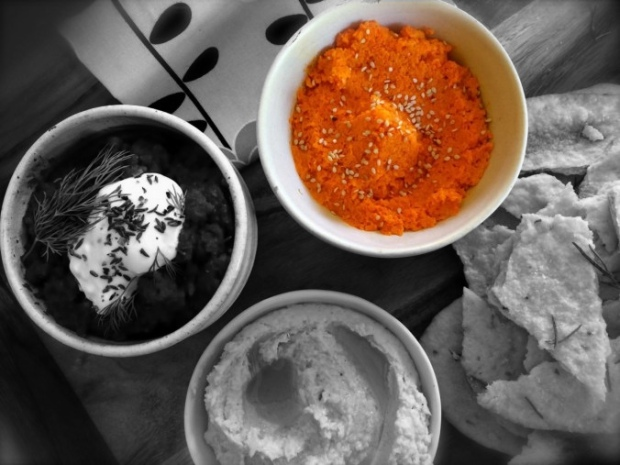 Spicy Roasted Carrot Dip