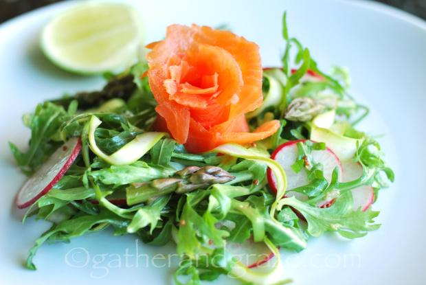 Smoked Salmon Salad | The Dinner Party Collective